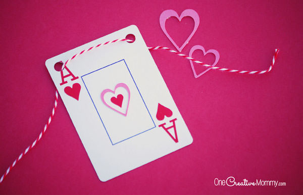 Valentines Day Banner TGIF This Grandma is Fun – Valentine Playing Cards
