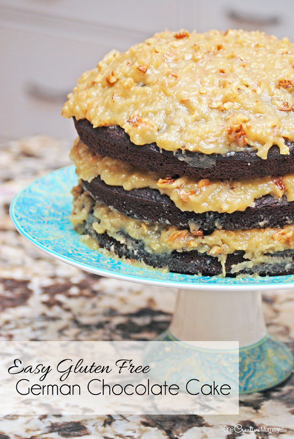 Easy gluten free german chocolate cake and a funny story easy gluten free german chocolate cake recipe start with a boxed mix stop by forumfinder Gallery