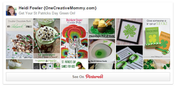 Get Your Green On St Patricks Day Pinterest Board