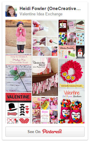 Valentine Idea Exchange Pinterest Board {All things Valentine!}