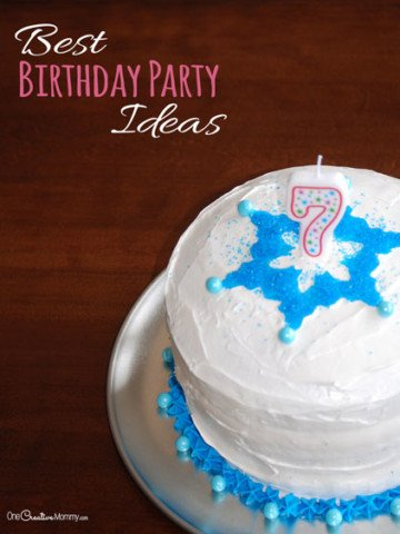 Best Birthday Party Ideas for Kids {Top 10 most fun party games and activities from OneCreativeMommy.com}