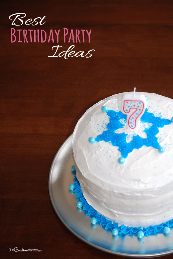 best kids birthday party ideas and a giveaway