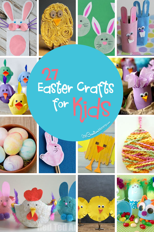 spring crafts ideas 27 easter crafts for onecreativemommy 2994
