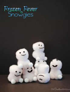 Frozen Fever Snowgies Craft for Kids {Baby Snowmen}