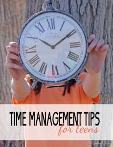 Time Management Tips for Teens
