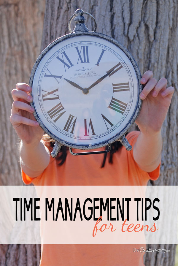 Time management for teens