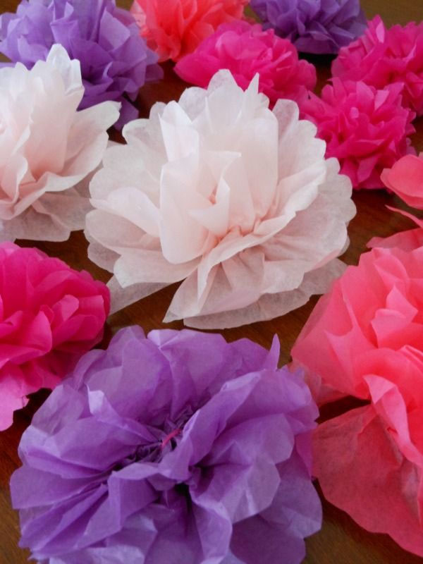 Best paper flowers tutorials for mothers day onecreativemommy tissue paper flower napkin rings from a mom with a lesson plan vibrant coffee filter flowers how to make mightylinksfo