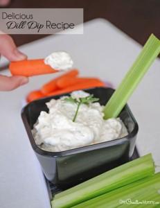 Delicious Dill Dip Recipe