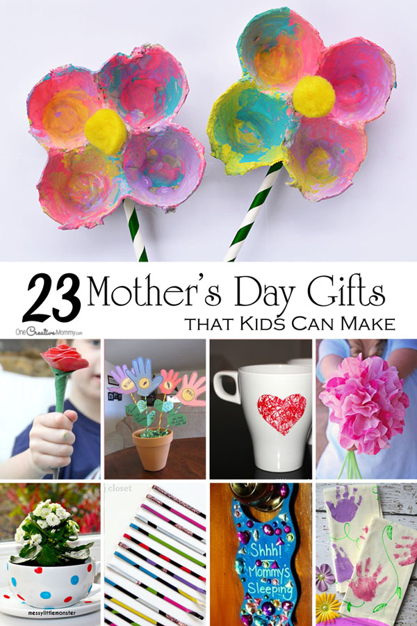 Mother s day crafts for kids onecreativemommy
