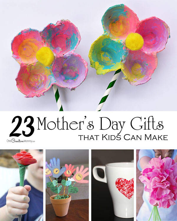Mother S Day Crafts For Kids Onecreativemommy Com