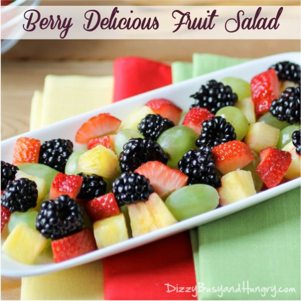 {Part of the Best Summer Fruit Salad Recipes Roundup on OneCreativeMommy.com}