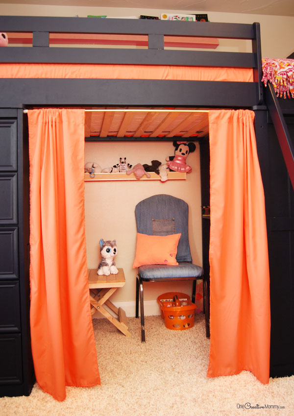 Who knew that this annoying space could turn into such a for Fort bedroom ideas