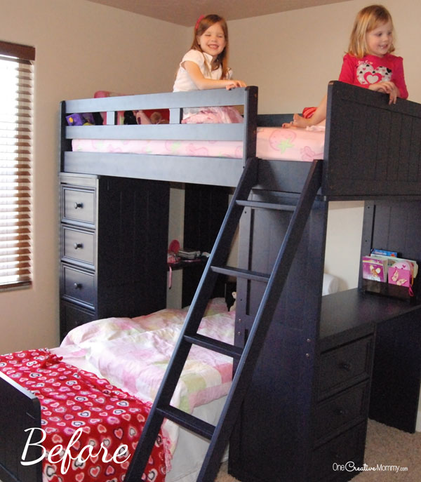 Bunk Bed Fort Before