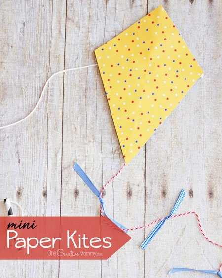 Bust Boredom With These Adorable Mini Paper Kites