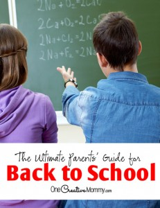 The ultimate back to school tips guide!