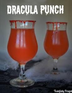 Cool Dracula Punch Halloween Drink