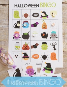 Free Halloween Bingo boards | Perfect for families, room moms and party planners! {OneCreativeMommy.com}neCreativeMommy.com}