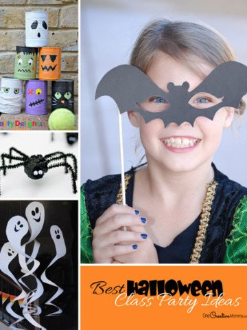 33 Awesome Halloween Class Party Ideas! Halloween crafts and games to wow the kids at your preschool and elementary class parties this year! Be the cool mom.