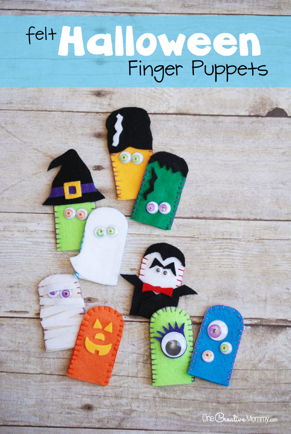 Free Kid Crafts Finger Puppets