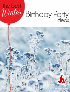 Great ideas for hosting the perfect winter birthday party for kids! We used most of these ideas for my tween daughter, and they were a big hit! {OneCreativeMommy.com} Kids party ideas