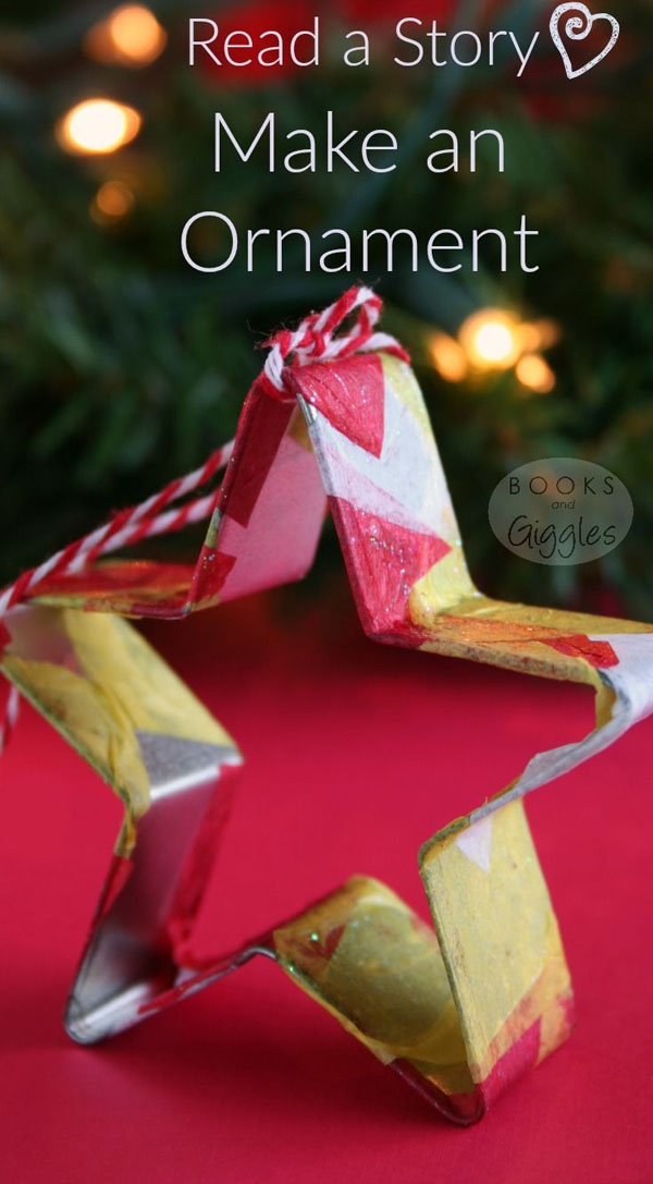 Cookie Cutter Ornaments |Featured with 33+ Handmade Christmas Ornaments to Make with Your Kids! {OneCreativeMommy.com}