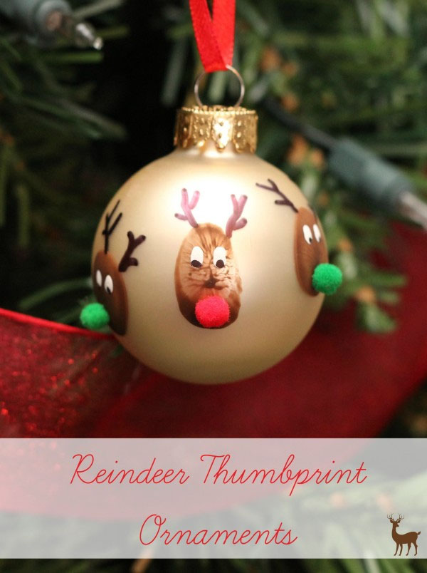 33 handmade christmas ornaments for kids for Homemade christmas ornaments to make