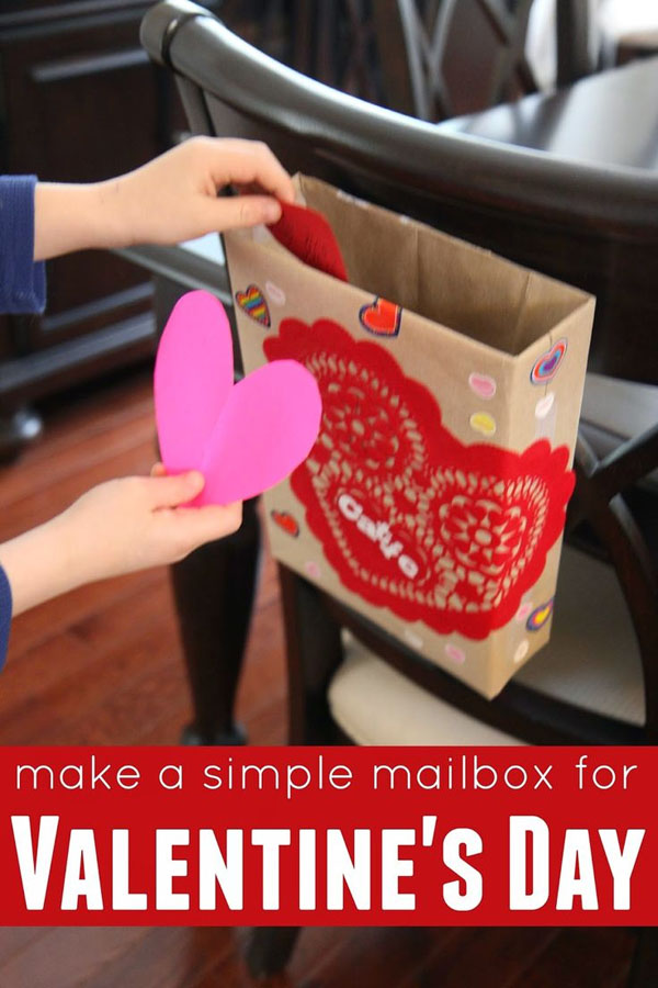 Simple Cereal Box Valentine Box | Featured with 25 Awesome Valentine Box Ideas to Rock the Class Party! {OneCreativeMommy.com}