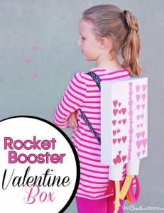 Valentine Box Ideas: Rocket Booster!