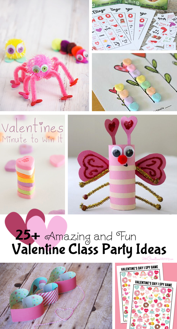Classroom Birthday Party ~ Fantastic valentine class party ideas