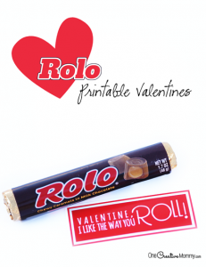 Rolos Printable Valentines