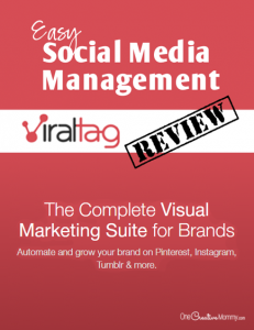 ViralTag Review: Simple and Affordable Social Media Management| Schedule to 6 social media accounts with one tool! {OneCreativeMommy.com}