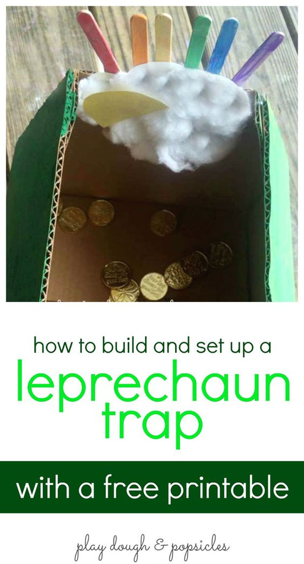 how to make a trap for kids