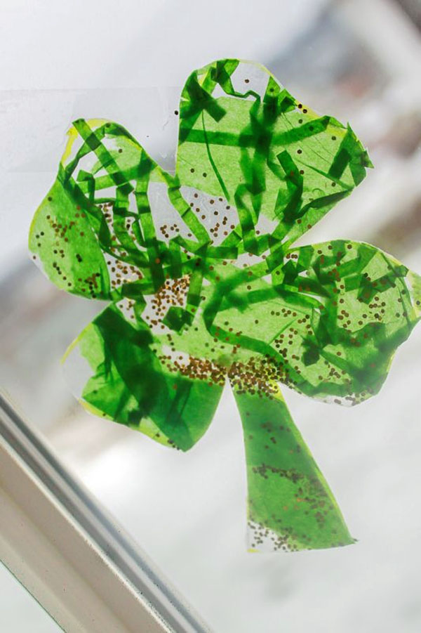 Best Leprechaun And Shamrock Crafts Onecreativemommy Com