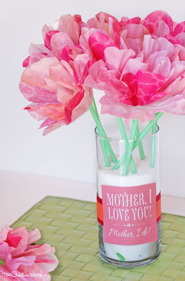 Cute Mother S Day Gift Idea And Printables Onecreativemommy Com