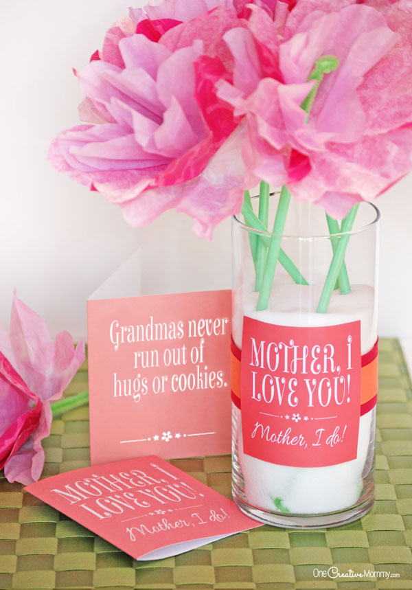Make Mother S Day Simple With This Easy Mothers Gift Idea And Free Printable It