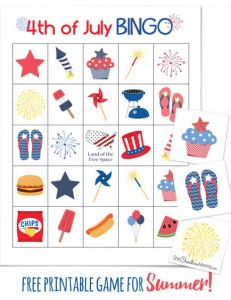 4th of July Bingo!