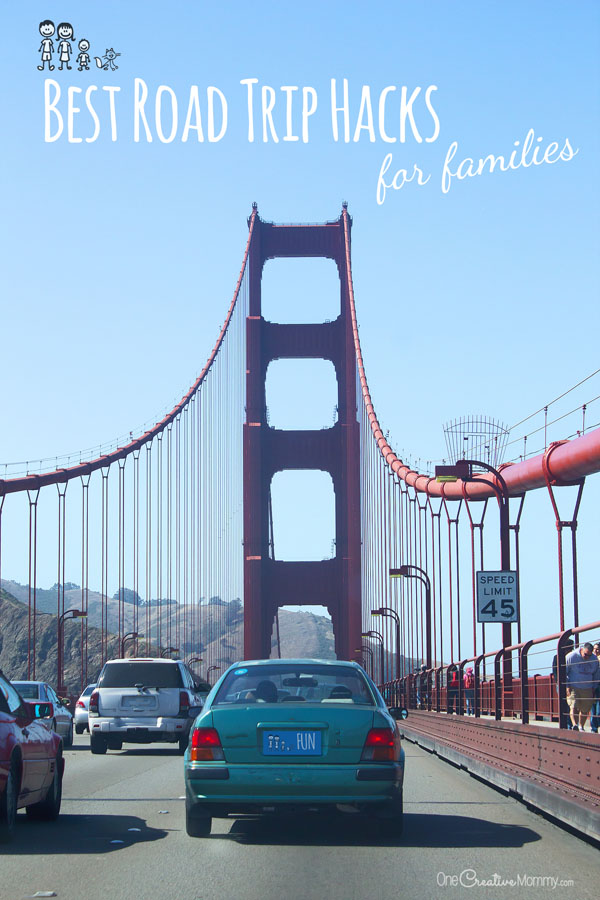 9 Amazing Travel Hacks for Families {OneCreativeMommy.com} #1 is brilliant, and I can't believe I never thought of #2! So simple.