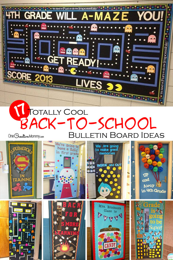 Classroom Decoration Games Free ~ Wow the class with these cool back to school bulletin