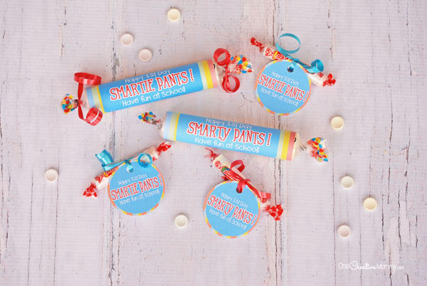 Smarties Back To School Printables For A Fun First Day