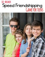 Help teens improve their communication skills with Speed Friendshipping! {OneCreativeMommy.com} Great for YW/YM activity