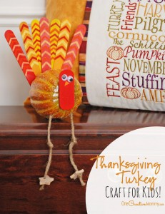 Make these adorable turkeys with your kids this Thanksgiving!