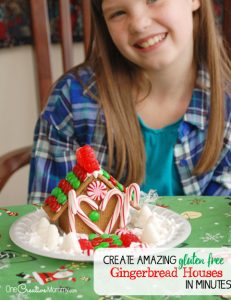 The simple hack to assemble Gingerbread Houses in minutes!