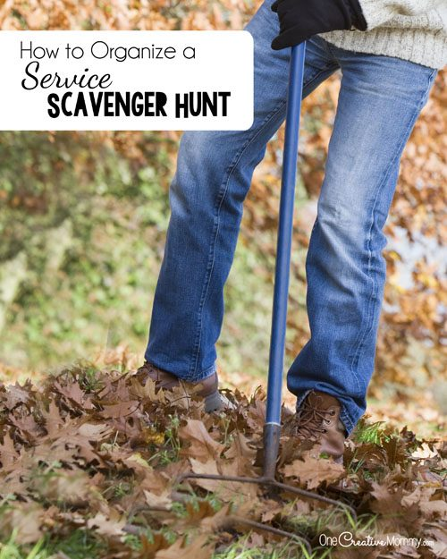 Teach Youth Gratitude with a Service Scavenger Hunt