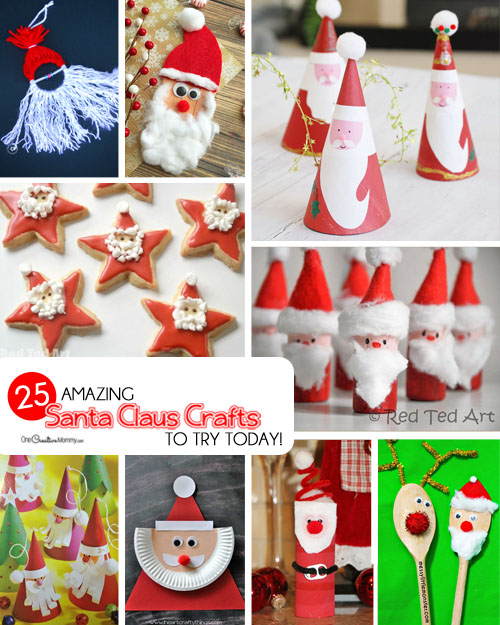 25 amazing santa kids crafts to try right now onecreativemommycom