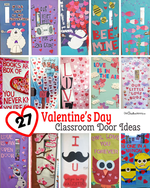 Classroom Design For Valentines Day ~ Creative classroom door decorations for valentine s day