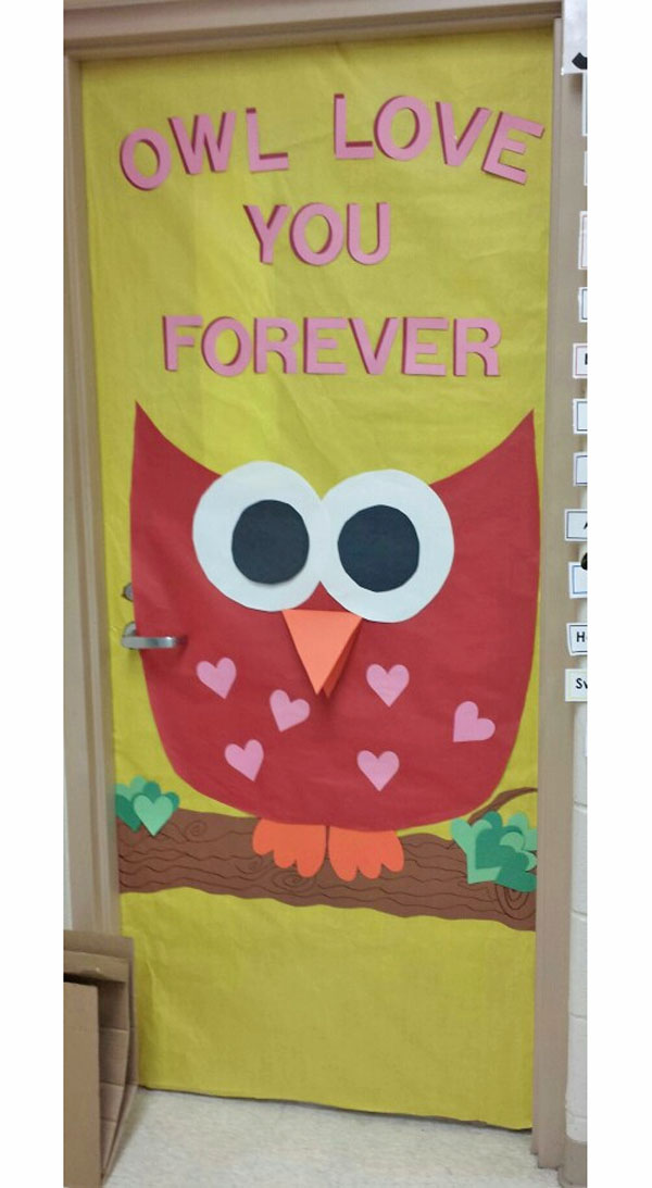 Art Decoration Ideas For Classroom ~ Creative classroom door decorations for valentine s day