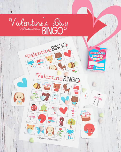The absolute cutest Valentine's Day Bingo game!