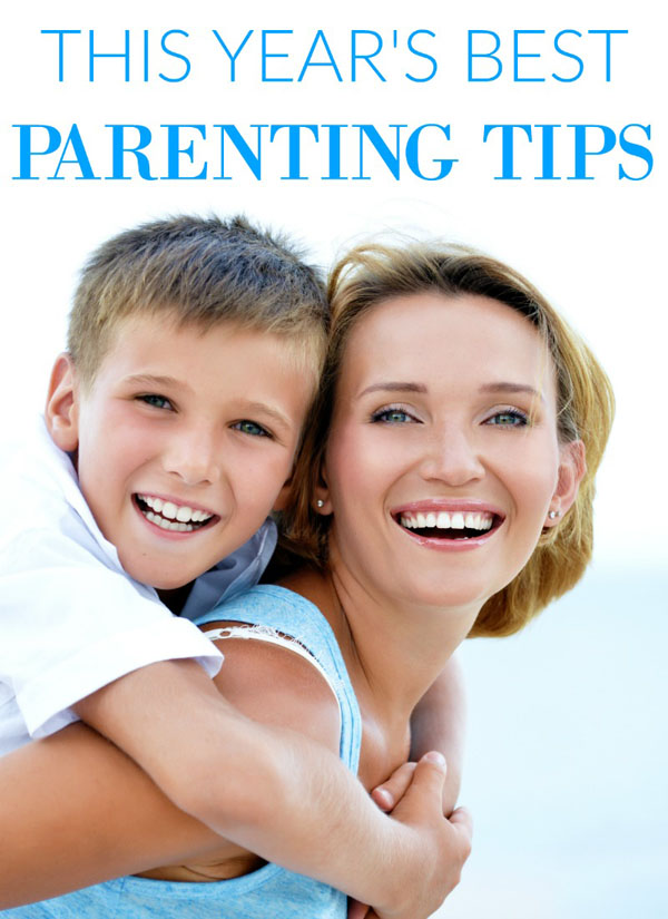 Check out this year's top parenting tips from 9 amazing parenting bloggers! {OneCreativeMommy.com}