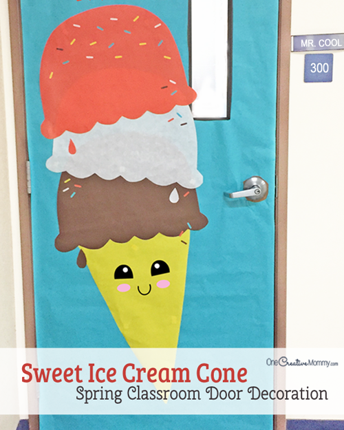 Easy Classroom Door Idea for Spring  sc 1 st  OneCreativeMommy.com & classroom door decorations Archives - onecreativemommy.com