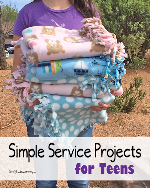 Simple Service Projects for Teens to Try Today!